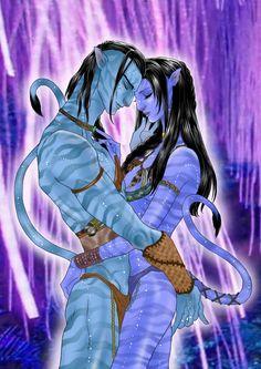 The largest online art gallery and community Avatar Films, Avatar Movie, Alien Avatar, Alien Creatures, Fantasy Creatures, Avatar Halloween Costume, Avatar James Cameron, Avatar Poster, Avatar Fan Art