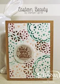 Stampin' Up! has done an early release of this suite in TWO fantastic bundles! And yes, customers can order them also! Eastern Palace, Cards For Friends, Stampin Up Cards, Cardmaking, Your Cards, Artisan, Paper Crafts, Catalog, Serenity