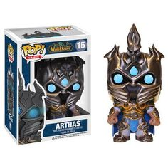 Funko Pop! World Of Warcraft: Arthas - The Mighty Collector