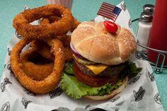 1950s diner food -