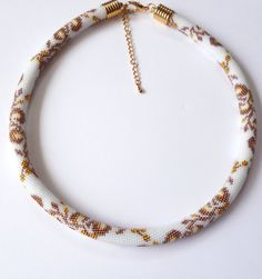 Beaded crochet rope- expert level