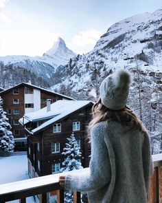 Hotel Bristol in Zermatt - Just moved to Switzerland Zermatt, Switzerland Hotels, Switzerland Vacation, Jo And Judy, Hotel Bristol, Winter Love, Photos Voyages, Winter Photography, Beach Photography