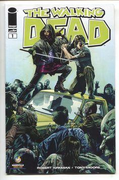 Walking Dead 1 Image 2013 NM Nashville Wizard World Mico Suayan Variant