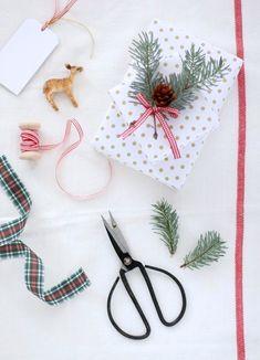 cafenoHut: Paket Süslemece - Gift Wrapping Idea