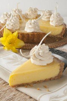 Receta: tarta crujiente de limas - Gastronomia.com