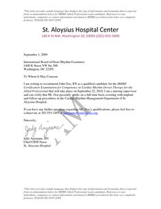 lettersofrecommendationsamples free sample letters of recommendation for nurse by