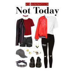 "Outfits inspired by ""Not Today"" by BTS"
