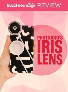 A review of Photojojo's Iris Lens Series.