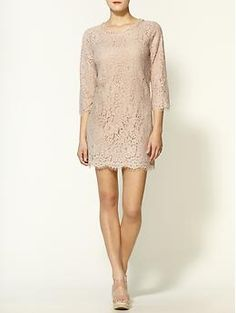 Wedding guest dress!  Joie Portia Lace Mini Dress | Piperlime