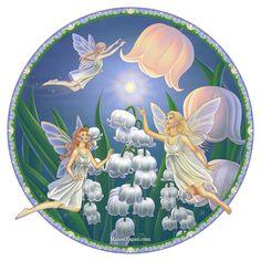 Three Fairies by Manon Yapari