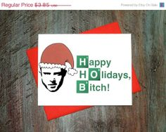 Cyber Monday Christmas Card - Breaking Bad Jesse Pinkman Funny on Etsy, $2.70
