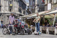 Test de mobilitate - nici călare nici pe jos!   www.autoexpert.ro  #RenaultTwizzy #autoexpert #segway #RevistaAutoExpert #bicicleta