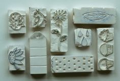 Hand Carved Stamps by Niki Meines