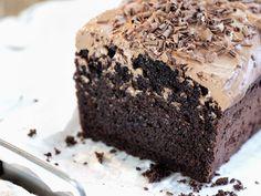 Sjokoladeformkake med sjokoladeglasur