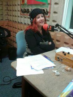 En mi programa de radio.