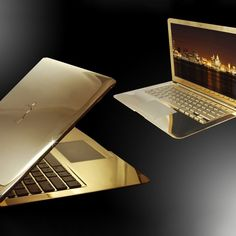 he 2015 MacBook embellished in 24ct gold and perfectly polished all over to reveal an amazing mirror like appearance . Only one word describes this laptop Stunning. 512GB PCIe-based onboard flash storage1 1.2GHz dual-coreIntel Core M processorTurbo Boost up to 2.6GHz8GB memoryIntel HD Graphics 5300