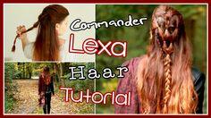 COMMANDER LEXA HAAR TUTORIAL | The 100 mit alwaysxcaro