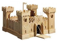 Cheap Toy Wooden Castles And Forts For Sale, Excellent Boys Christmas Or…