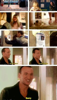 the ninth doctor and rose tyler season 1