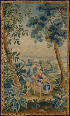 Matt Camron Rugs & Tapestries - Tapestries - Antique Tapestry - 14999HM
