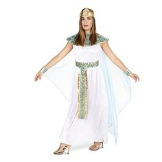 There is nothing more sexy and cool as being an Egyptian princess or perhaps even Cleopatra for Halloween.  Finding trendy womens Egyptian Halloween costumes is easier than you think.  Pharaoh's Queen Adult Costume L