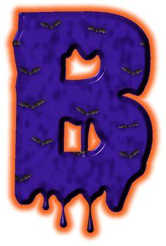 Alfabeto de murcielagos...B