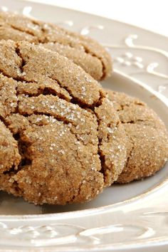 The BEST ginger cookie recipe in the world! Seriously. :)