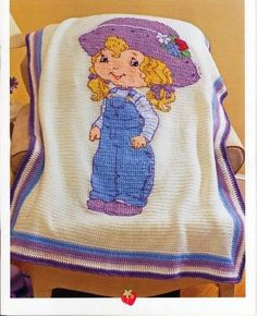 Cross Stitch and Crochet - Class of Strawberry Shortcake