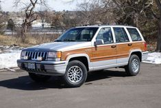 Bid for the chance to own a No Reserve: 1993 Jeep Grand Wagoneer at auction with Bring a Trailer, the home of the best vintage and classic cars online. Car Insurance Rates, Best Car Insurance, First Time Driver, Backpacking Gear, Classic Cars Online, Jeep Grand Cherokee, Fort Collins, Roof Rack, Chevy Trucks