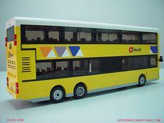 Hong Kong Citybus Man 24.350 bus built by LEGO