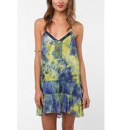 Ecote Tie-Dye Lace Dress