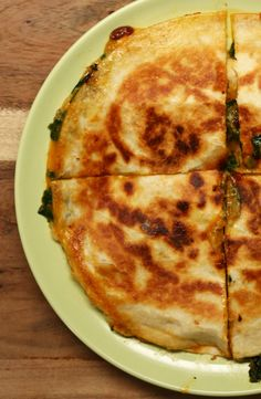 Stilton & Pear Quesadilla