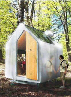 Italian architect Renzo Piano, made,  Diogenes Micro house