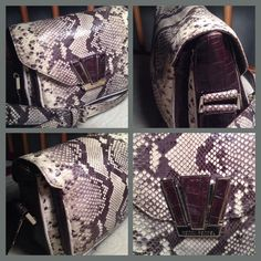 ‼️2016 SALE‼️Henri Bendel Python Bag This handbag is sophisticated sexy and perfect for dinner or any event. Has triple compartment interior and superior quality! Henri Bendel Bags