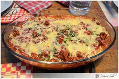 Courge spaghetti à la bolognaise de Poivré Seb - Poivré Seb Spaghetti Bolognaise, Cuisine Diverse, Lasagna, Quiche, Food And Drink, Keto, Breakfast, Ethnic Recipes, Simple