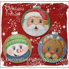 Christmas Friends ePacket - Susan Kelley - PDF DOWNLOAD