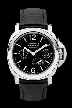 Luminor Power Reserve Automatic Acciaio PAM00090 - Collection LUMINOR - Watches Officine Panerai