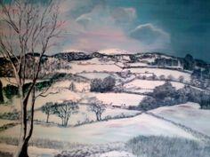 Snow Scene 2011 (SOLD)