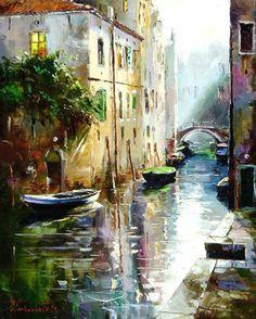 Deep Silence of Venice by Gleb Goloubetski