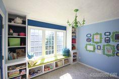 Playroom Built-ins – Robin's Reveal
