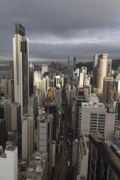 The city of Hong Kong | Skyscrapers | I grattacieli della città di Hong Kong  | FourStars Stage in Cina