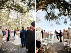 Woodland Fields Photography   St Teresa Tallahassee Florida Wedding Photographer   Summer Camp Wedding   outdoor ceremony