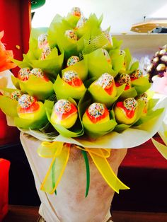 Marsmallows bouquet