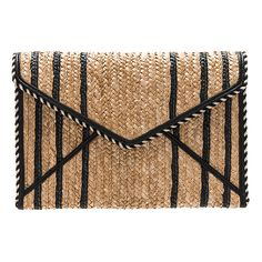 Designer Clothes, Shoes & Bags for Women Rebecca Minkoff Clutch, Rebecca Minkoff Handbags, Beige Purses, Straw Handbags, How To Make Light, Hand Bags, Clutch Bag, Vintage Outfits