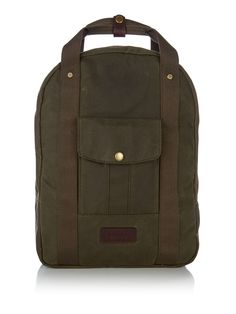 Barbour Houghton Backpack - House of Fraser Barbour Bags, House Of Fraser, Luggage Sets, Suitcase, Backpacks, Shopping, Design, Backpack