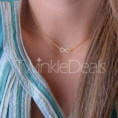 Fashion Women's Bowknot Pendant Necklace