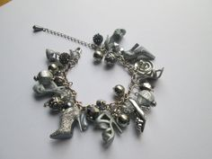 Barbie Shoe  Bracelet / Silver   / ITEM 3664