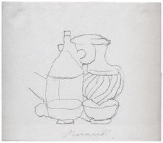 Джорджо Моранди (2) - Музей рисунка
