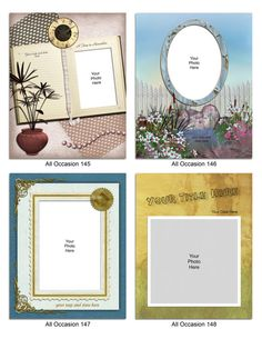$6.00 Let your picture tell the story. See details at https://www.etsy.com/listing/265330800/digital-photo-matte-set-of-8-all?ref=shop_home_active_21