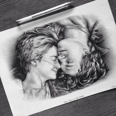 The Fault In Our Stars drawing by johanne-art on DeviantArt